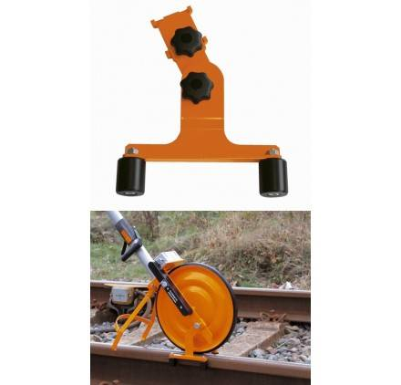 NEDO Guide Rail Voie Chemin De Fer Pour Roue De Mesure Odomètre Super Nedo