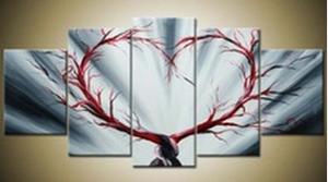 EJRAC Tableaux design Amour arbre moderne