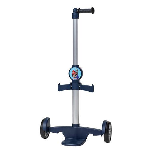 ANDERSEN Chariot à roulettes bleu pour cartable enfant