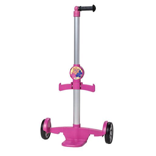 ANDERSEN Chariot à roulettes rose pour cartable enfant
