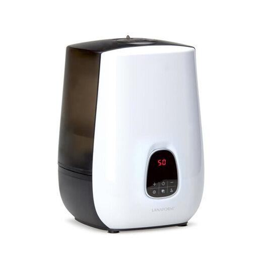 LANAFORM Humidificateur d'air à vapeur froide ou chaude surface jusqu'à 80 m2