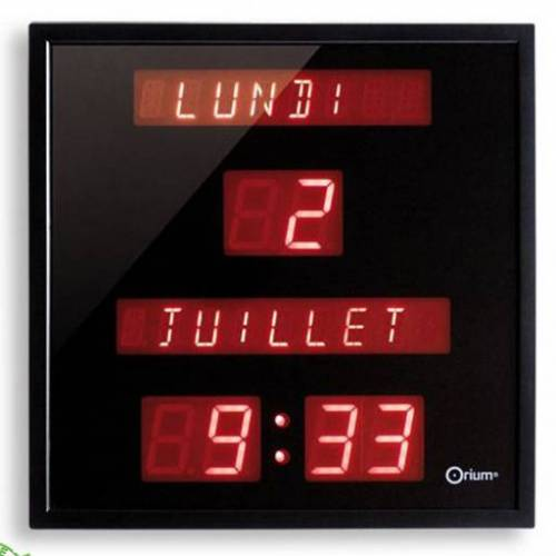 ORIUM Horloge Electronique Jour/...