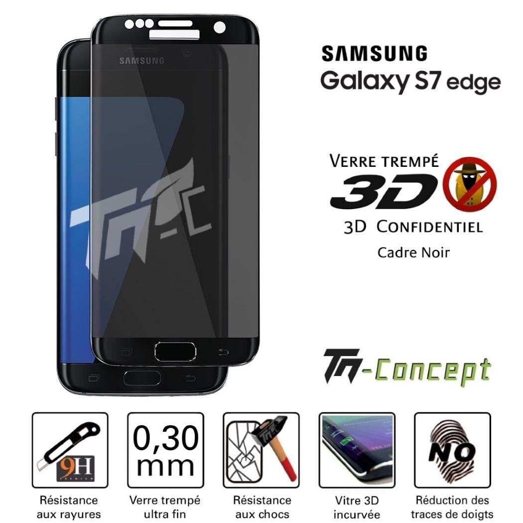 Samsung Galaxy A8+ (2018) - Vitre de Protection Crystal - TM Concept