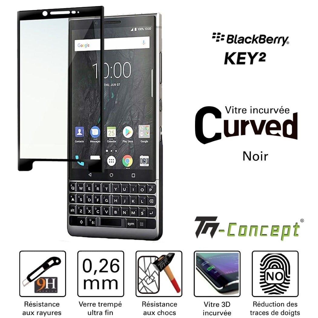 Samsung Galaxy A8+ (2018) - Vitre de Protection 3D Curved - TM Concept