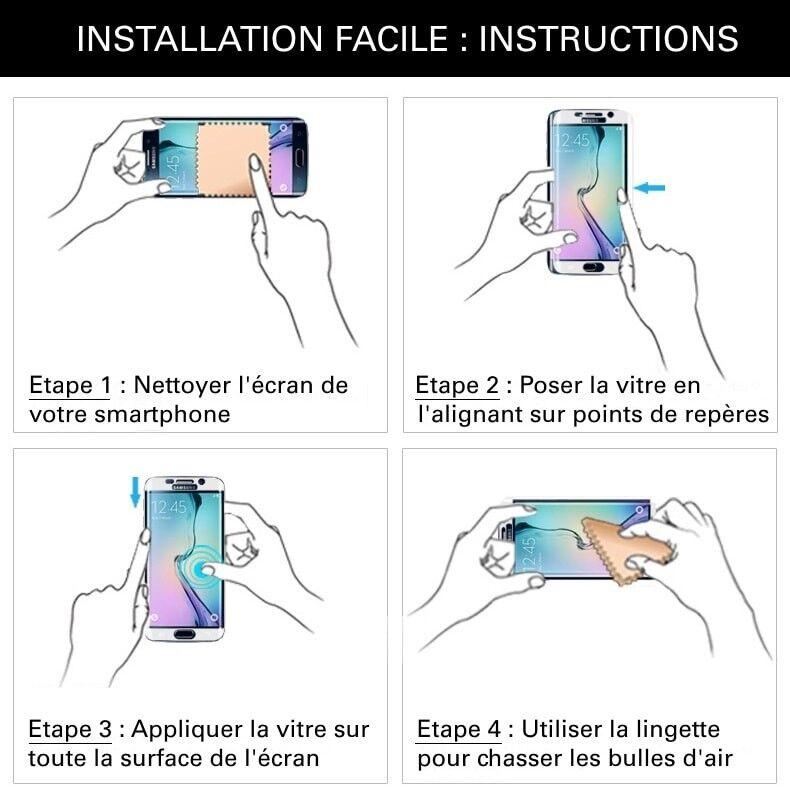Samsung Galaxy J7 Pro - Vitre de Protection Crystal - TM Concept