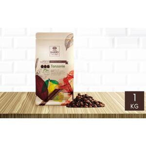 Cacao Barry Chocolat noir Tanzanie 75% pistoles 1 kg - Publicité