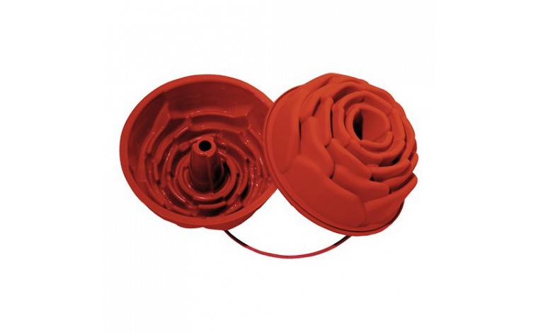 Silikomart Moule en silicone Forme Rose (fleur)