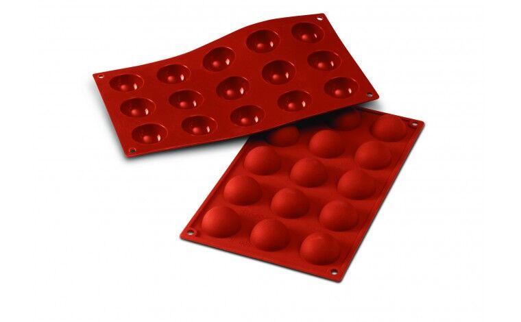 Silikomart Moule silicone 15 demi sphères
