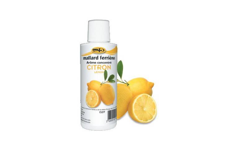 Mallard ferrière Arôme alimentaire concentré Citron 125ml
