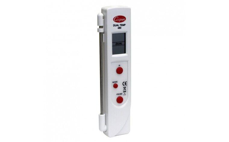 Colichef Thermomètre digital Duo a visée laser et sonde