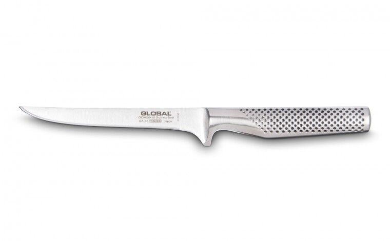 Global Couteau à désosser 16 cm (lame forgée) GF31