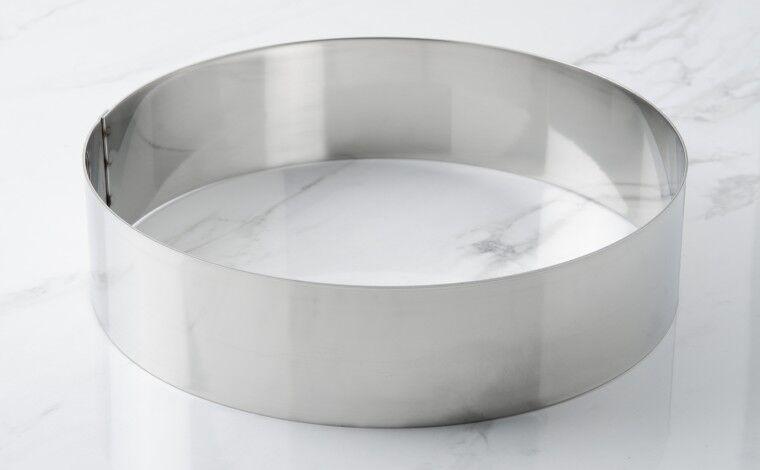 Mallard ferrière Cercle inox à vacherin - Diamètre 24 cm