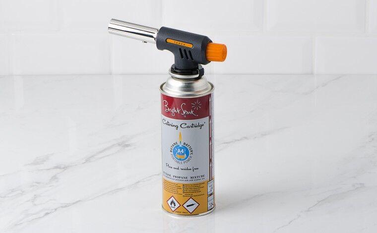 Colichef Chalumeau à gaz Pro Cuisine + 1 cartouche à gaz
