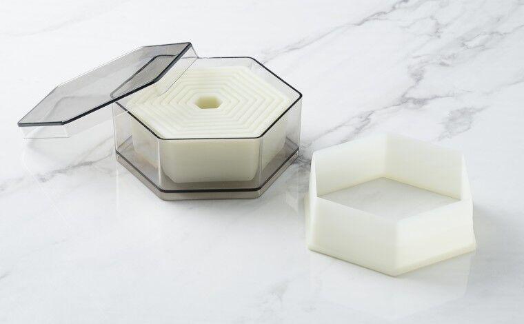 Mallard ferrière Boîte de 9 découpoirs hexagonaux unis