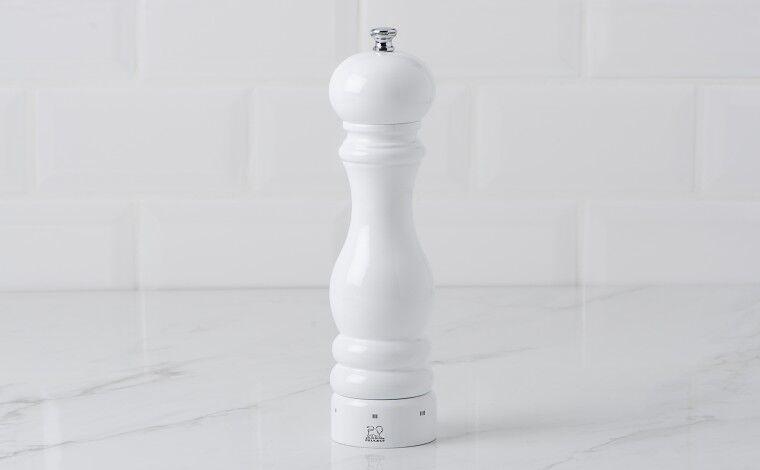 Peugeot Moulin à sel 22 cm PARIS U'Select - blanc laqué