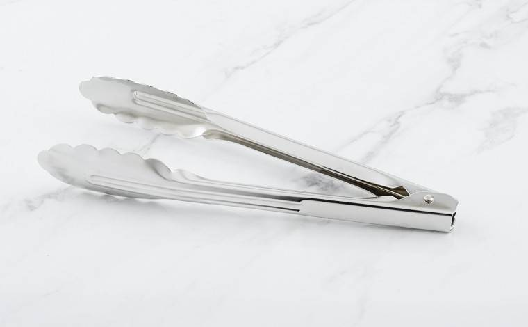 Matfer Bourgeat Pince inox feuille de chêne/multi-usage 24 cm