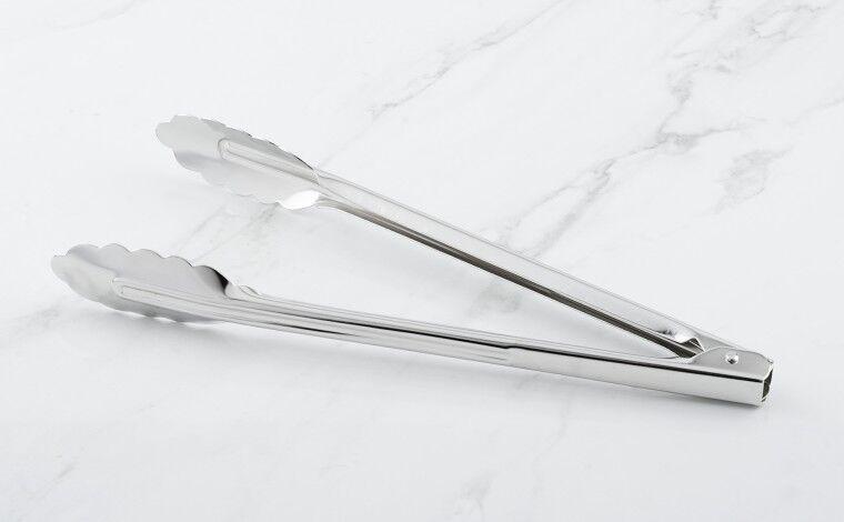 Matfer Bourgeat Pince inox feuille de chêne/multi-usage 30 cm