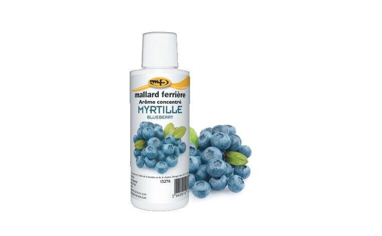 Mallard ferrière Arôme alimentaire concentré Myrtille 125ml