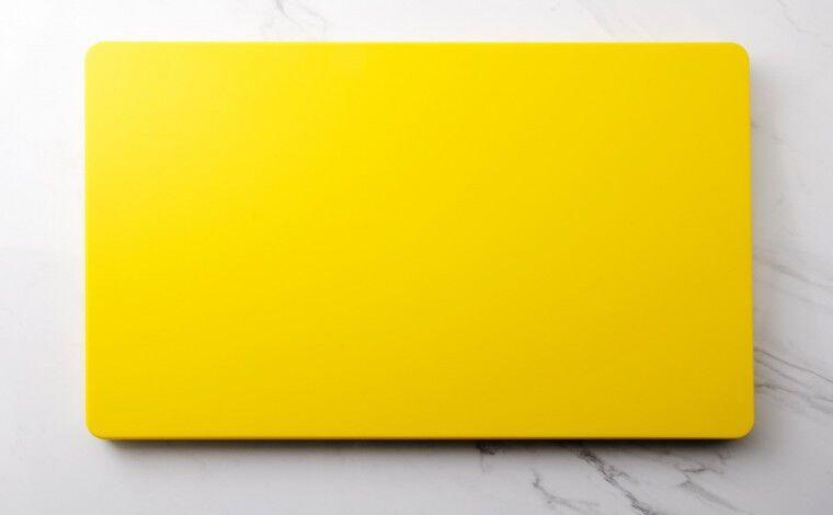 Colichef Planche à découper jaune