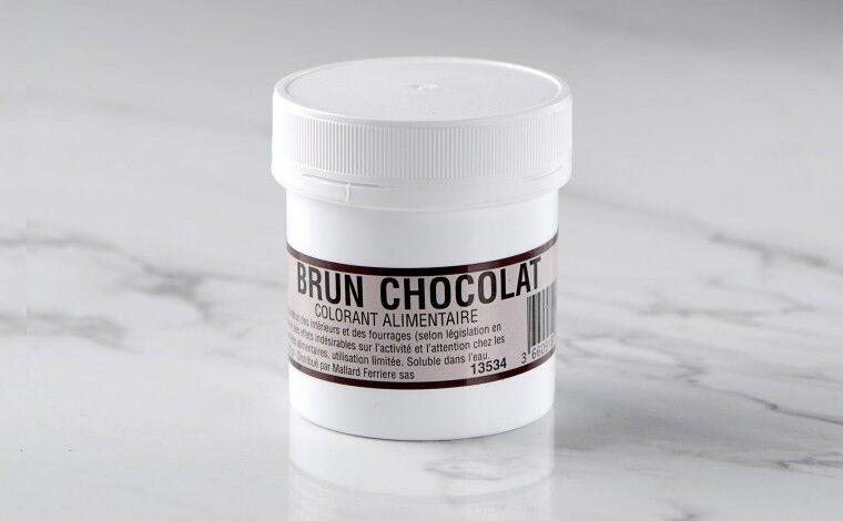 Mallard ferrière Colorant alimentaire en poudre Brun Chocolat 20gr