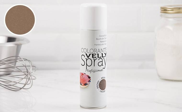 Colichef Spray effet velours brun (chocolat) 250 ML