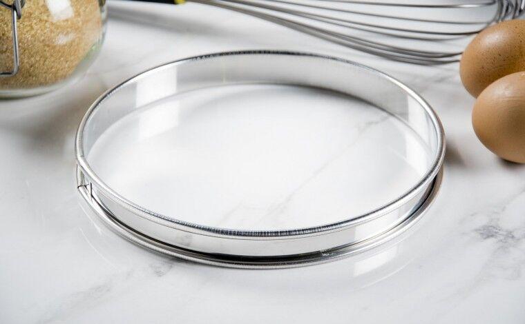 Mallard ferrière Cercle inox à tarte - Diamètre 18 cm