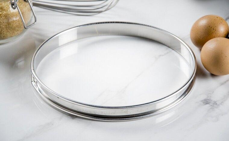 Mallard ferrière Cercle inox à tarte - Diamètre 20 cm