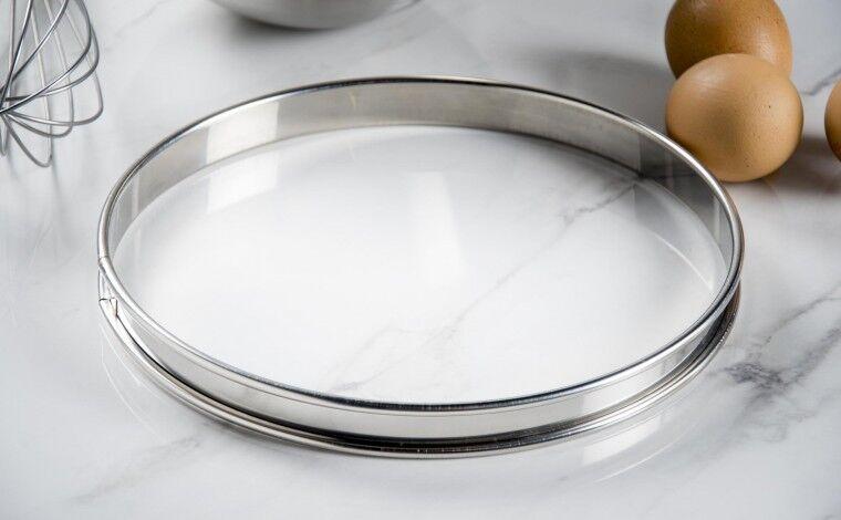 Mallard ferrière Cercle inox à tarte - Diamètre 22 cm