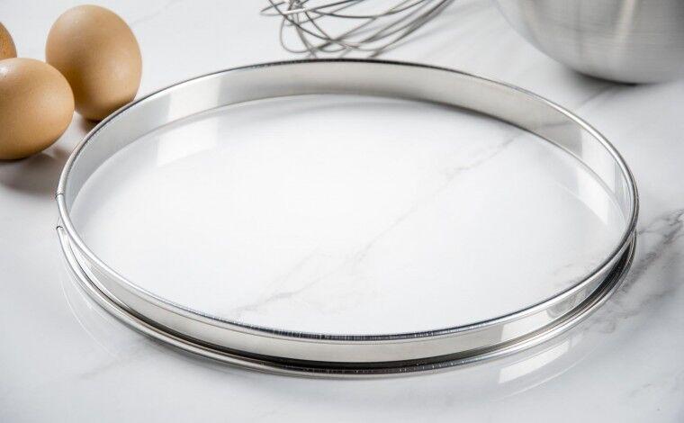 Mallard ferrière Cercle inox à tarte - Diamètre 26 cm