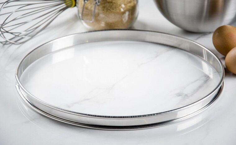 Mallard ferrière Cercle inox à tarte - Diamètre 30 cm