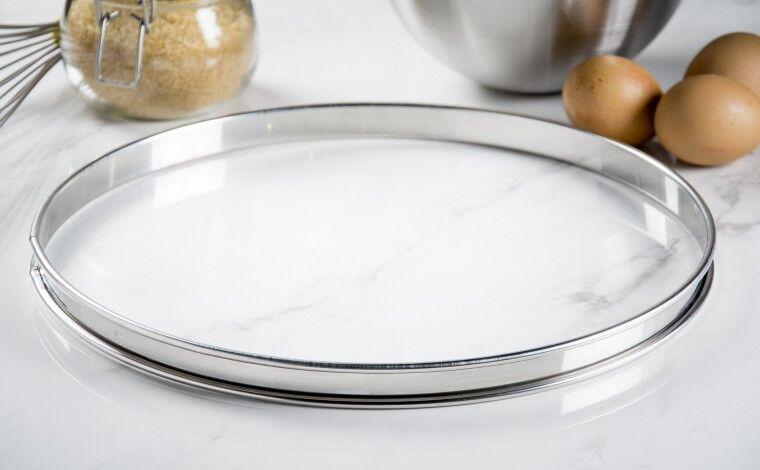 Mallard ferrière Cercle inox à tarte - Diamètre 32 cm