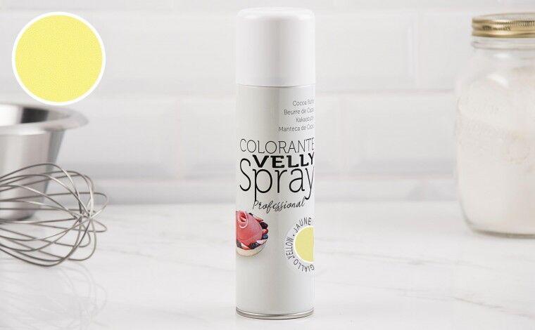 Colichef Spray effet velours jaune 250 ML