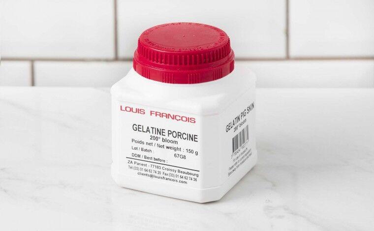 Louis Francois Gelatine porcine 200 Bloom 150 grammes
