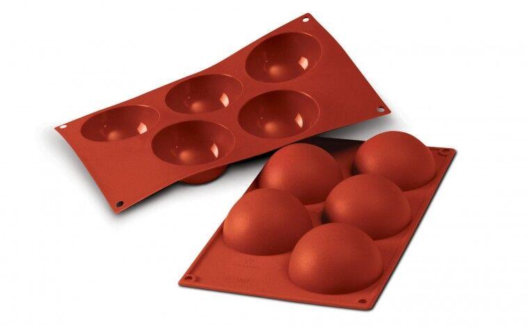 Silikomart Moule silicone 5 demi sphères