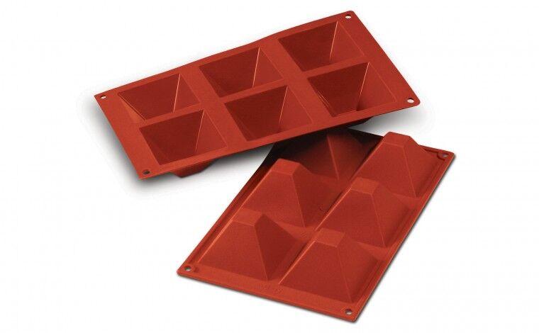 Silikomart Moule silicone 6 pyramides
