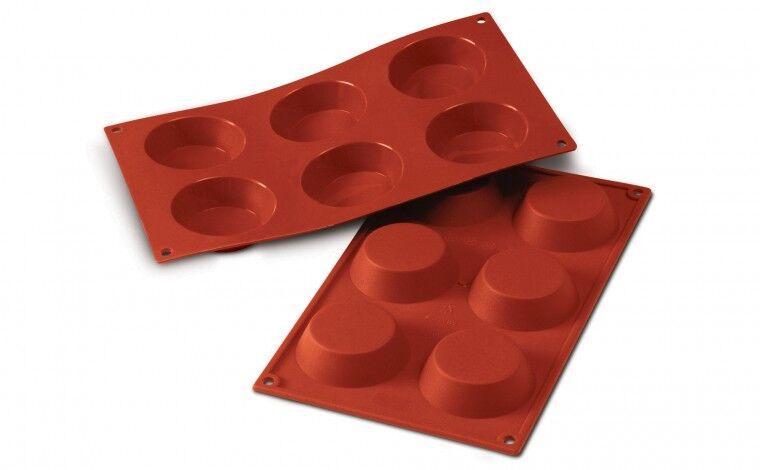 Silikomart Moule silicone 6 tartelettes