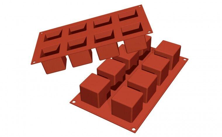 Silikomart Moule silicone 8 cubes