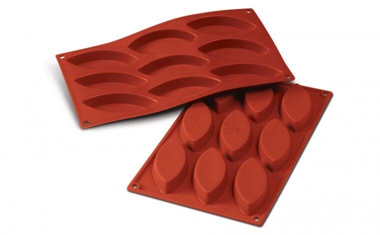 Silikomart Moule silicone 9 barquettes