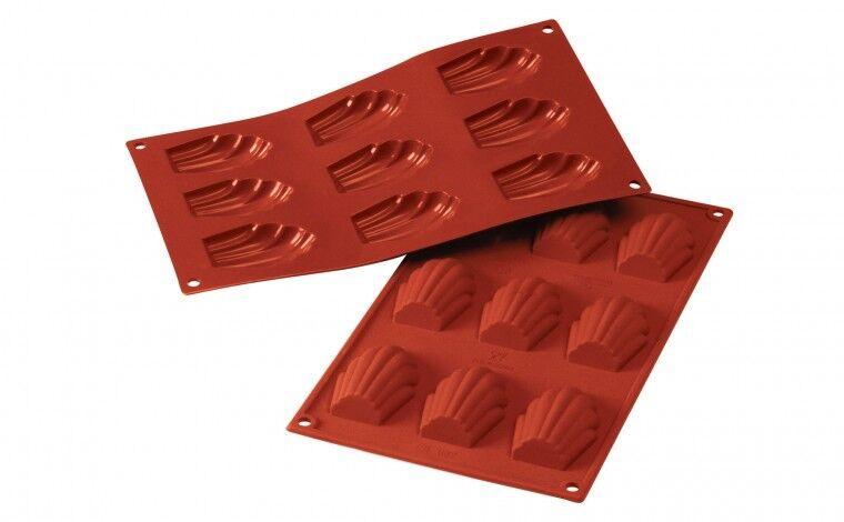 Silikomart Moule silicone 9 madeleines