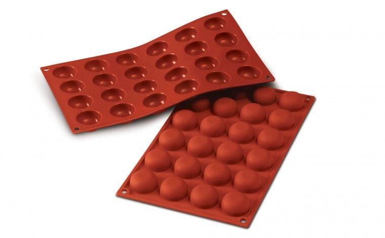 Silikomart Moule silicone 24 pomponnettes