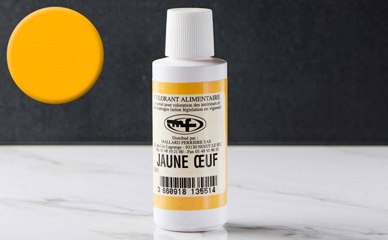 Mallard ferrière Colorant alimentaire liquide Jaune d'oeuf 100ml