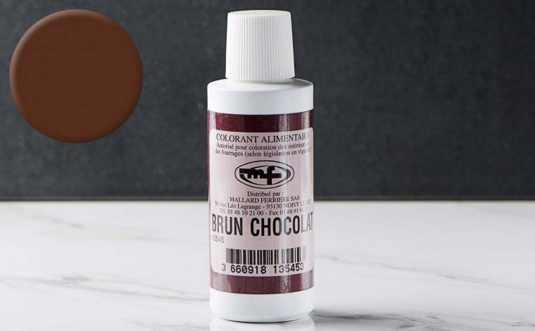 Mallard ferrière Colorant alimentaire liquide Brun Chocolat 100ml