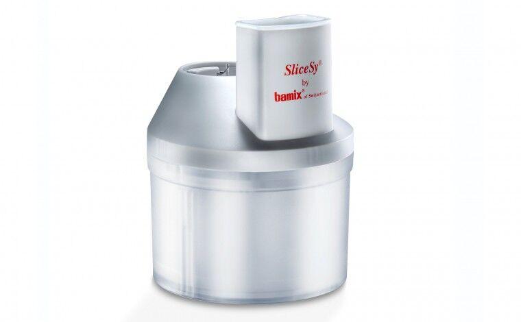 Bamix SliceSy Blanc pour Mixeur Bamix