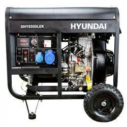 Hyundai Groupe électrogène diesel hyundai 6500w dhy8500lek mono