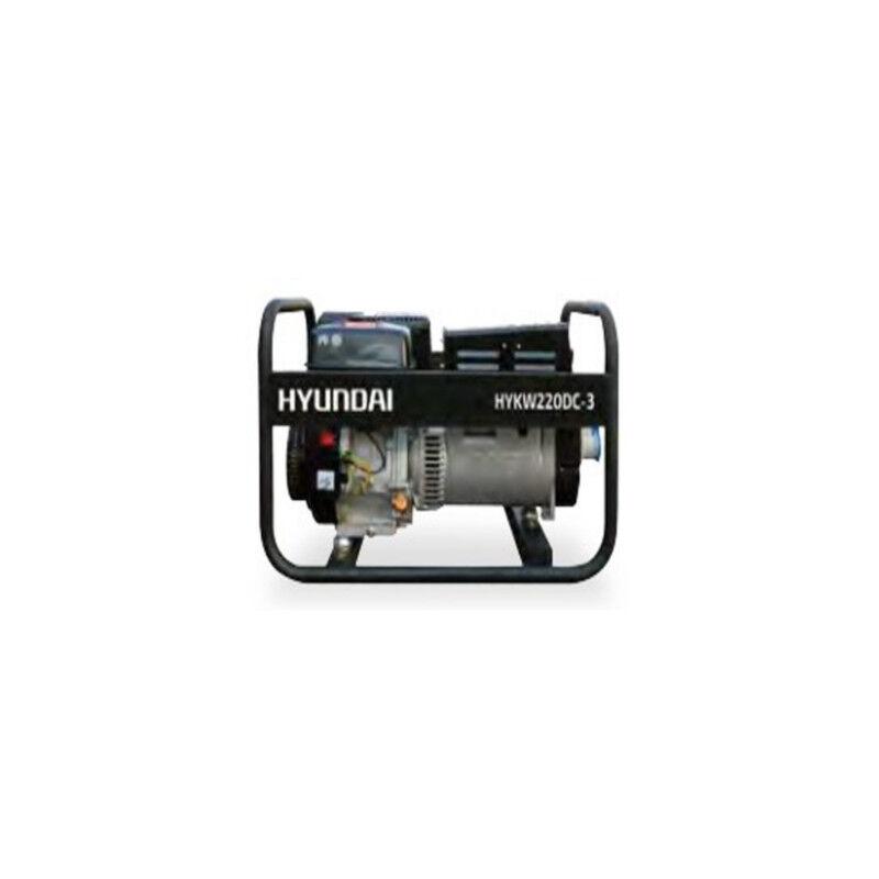 Hyundai groupe électrogène poste à souder hykw220dc-3 moteur triphasé