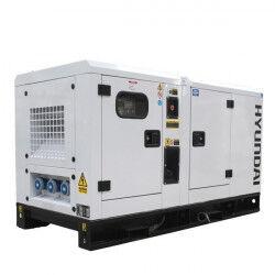 Hyundai groupe électrogène dhy22ksem insonorisé monophasé diesel