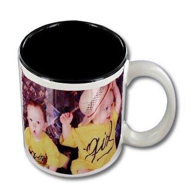 FotoCompil Mug personnalisable blanc intérieur noir