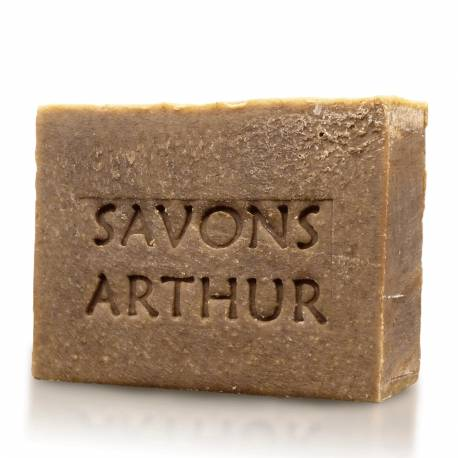 Savons arthur Savon & Shampoing Bio à la Menthe Poivrée Bio - Peaux Délicates : Conditionnement - 100 g