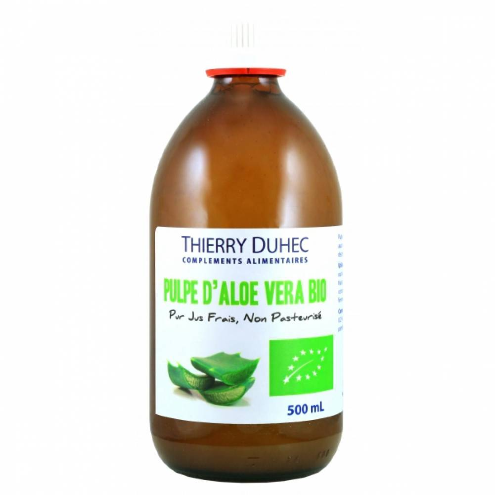 Thierry duhec Pur Jus d'Aloé Vera BIO 500 mL : Conditionnement - 500 mL