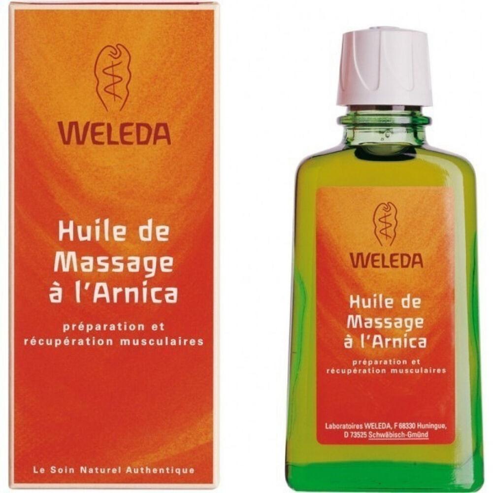 Weleda Huile à l'arnica Weleda : Conditionnement - 2x 100 mL